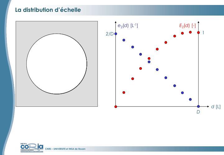 La distribution d'échelle