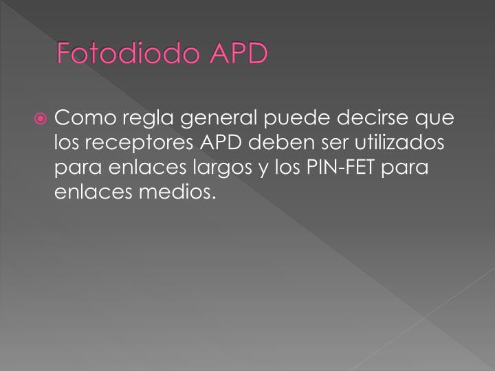 Fotodiodo APD