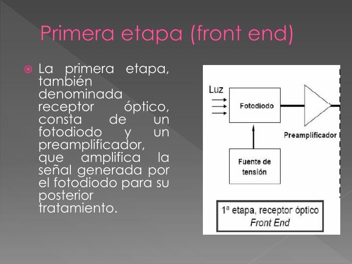 Primera etapa (