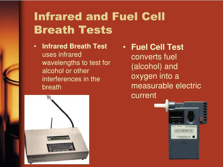 Infrared Breath Test