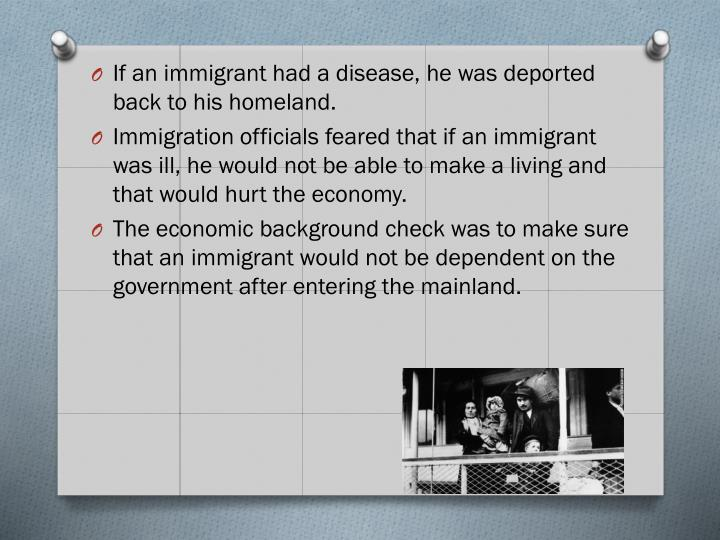 If an immigrant
