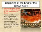 beginning of the end for the grand army