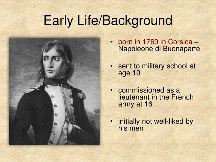 Early Life/Background