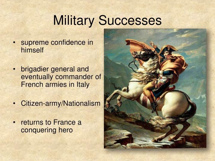 Military Successes