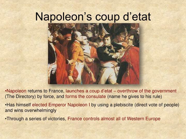 Napoleon's coup d'etat
