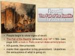 revolt the fall of the bastille 14 july 1789