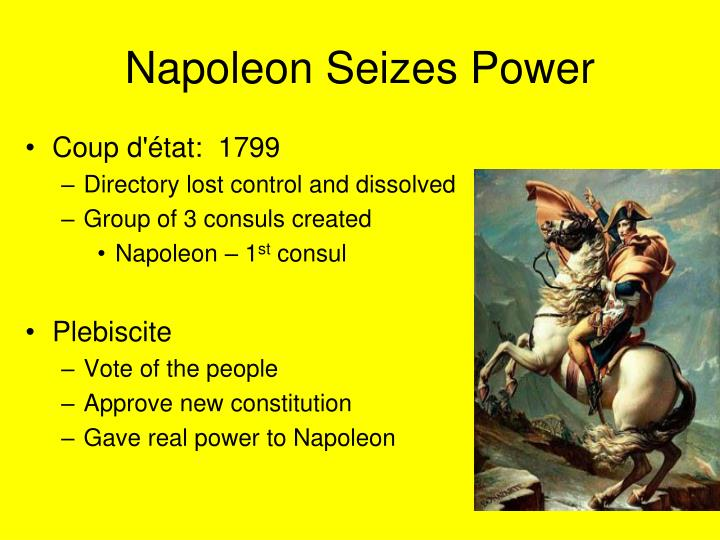 Napoleon Seizes Power