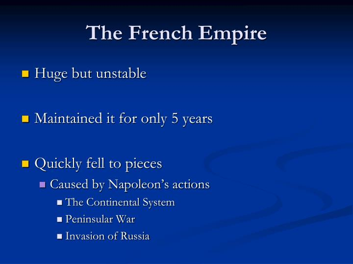The French Empire