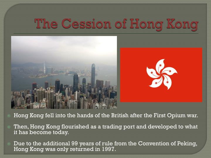 The Cession of Hong Kong