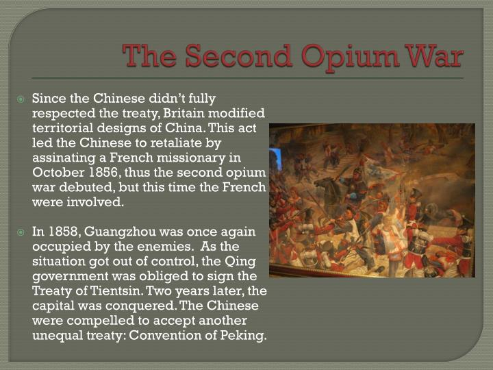 The Second Opium