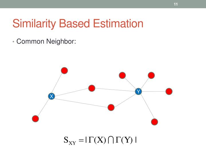 Similarity Based Estimation