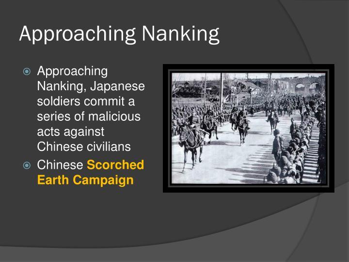 Approaching Nanking