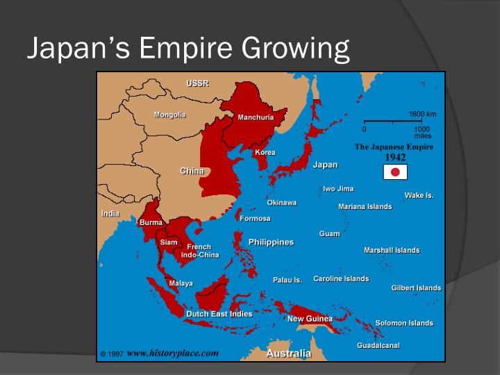 Japan's Empire Growing