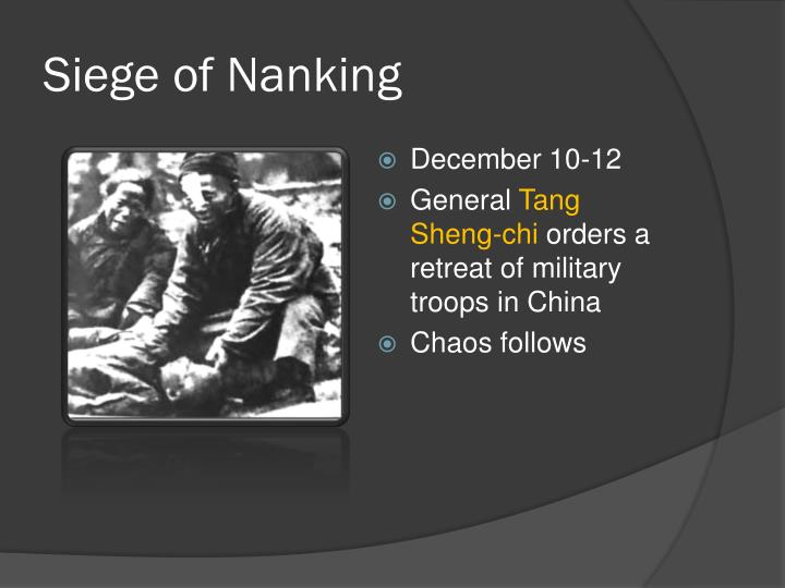 Siege of Nanking