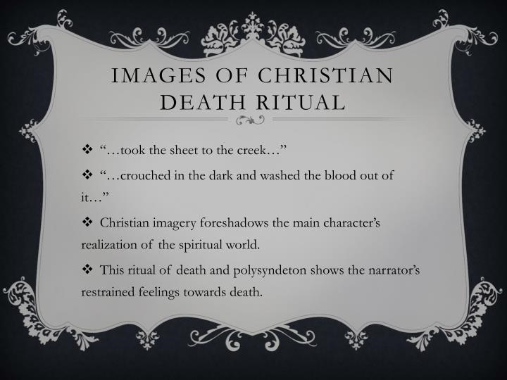 Images of Christian death ritual