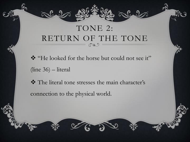 Tone 2: