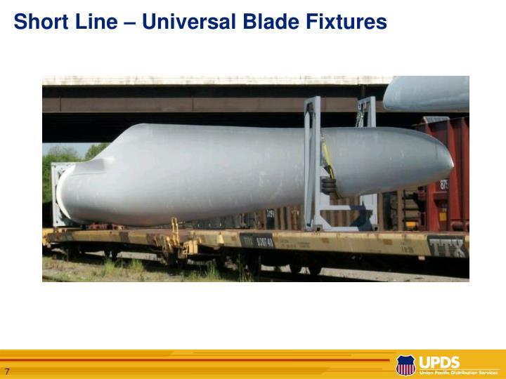 Short Line – Universal Blade Fixtures