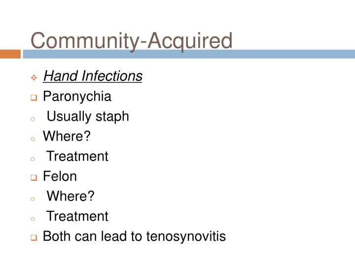 Community-Acquired