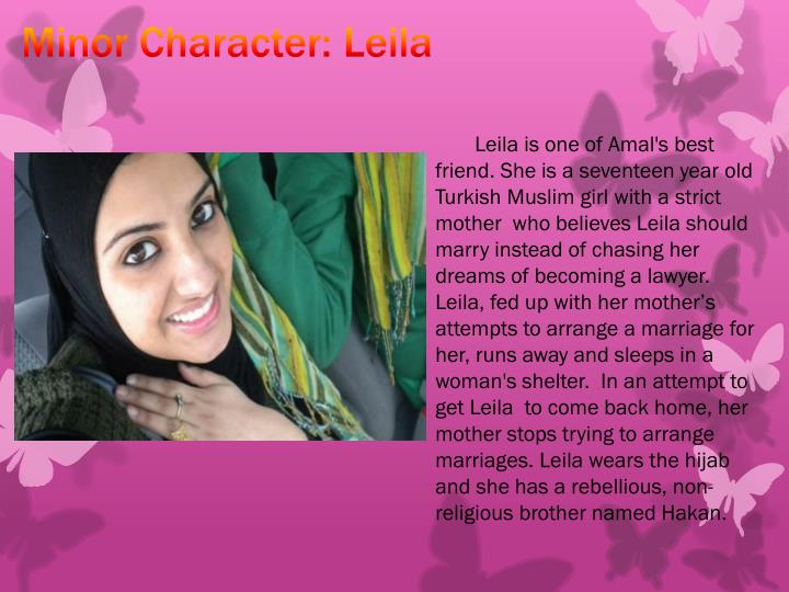 Minor Character: Leila