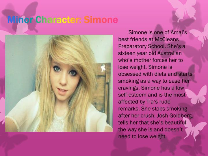 Minor Character: Simone