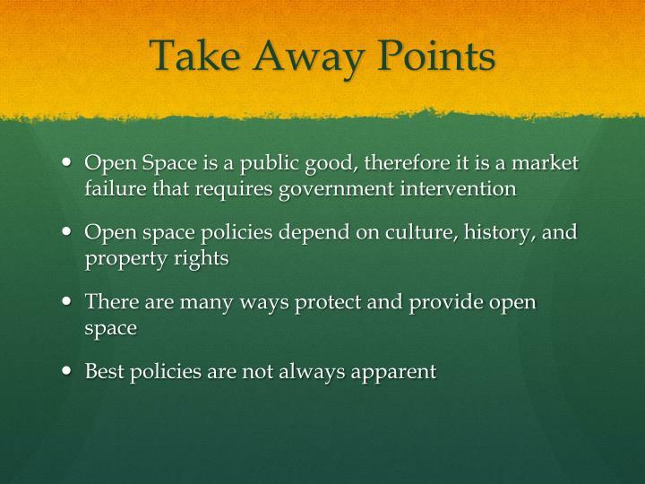 Take Away Points