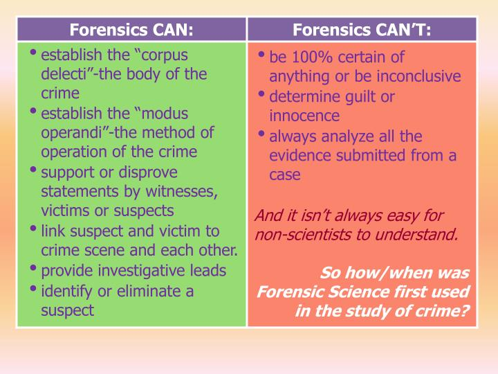 applying the daubert standard to forensic evidence essay The essay on applying the daubert standard to forensic evidence form that accompanied the evidence drive you prepared the contents of the seized hard drive using a .