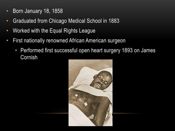 Born January 18, 1858