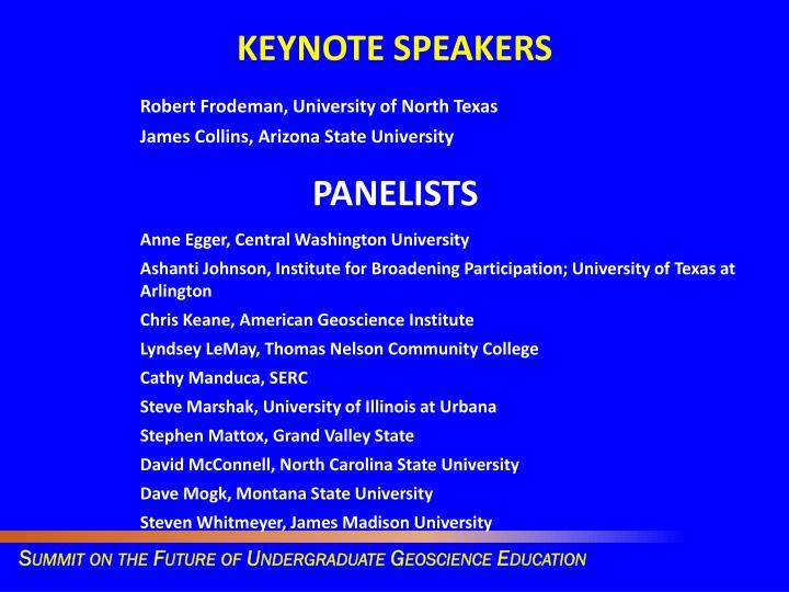 Robert Frodeman, University of North Texas