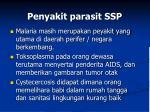 penyakit parasit ssp
