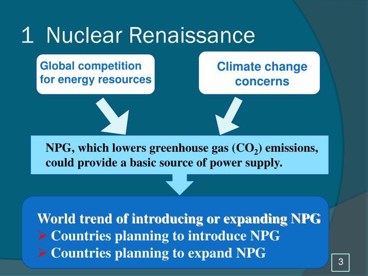 1  Nuclear Renaissance