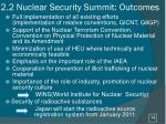 2 2 nuclear security summit outcomes
