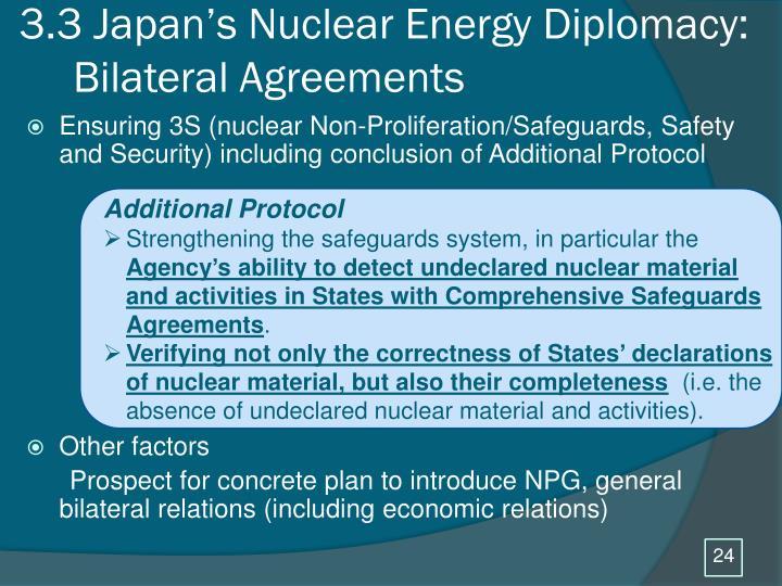3.3 Japan's Nuclear Energy Diplomacy: Bilateral Agreements