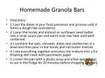 homemade granola bars1