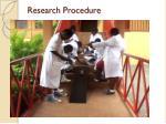 research procedure1