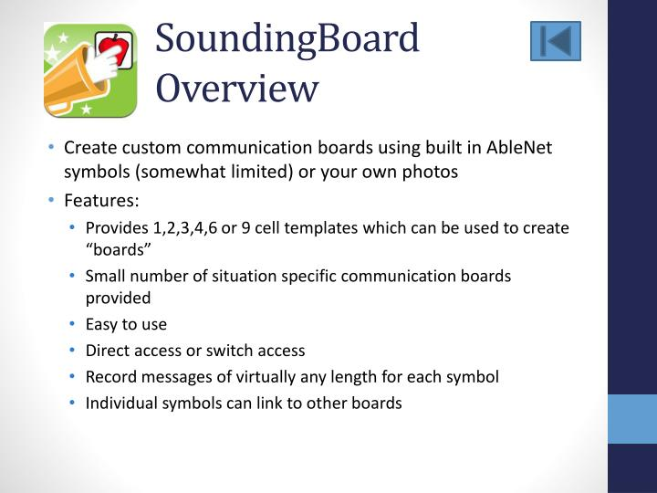 SoundingBoard
