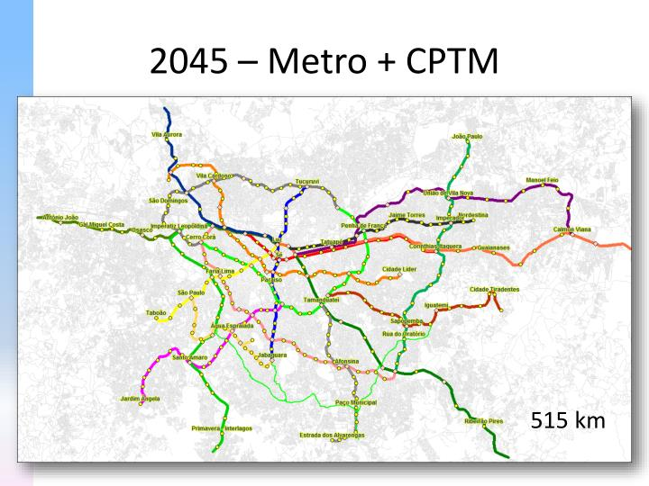 2045 – Metro + CPTM