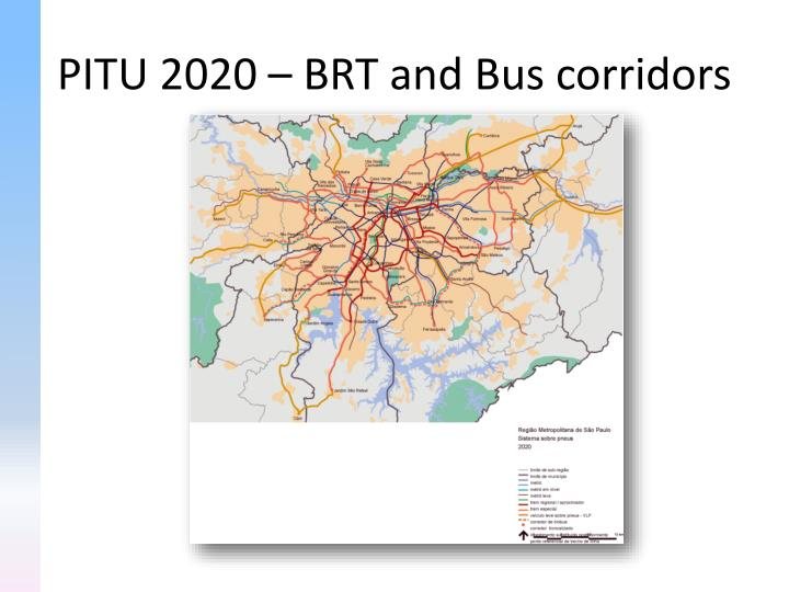 PITU 2020 – BRT and Bus corridors