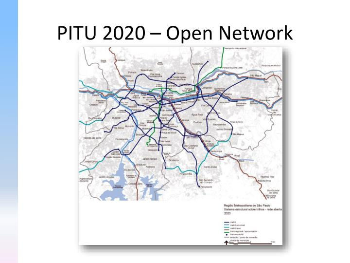 PITU 2020 – Open Network