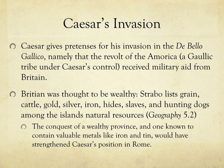 Caesar's Invasion