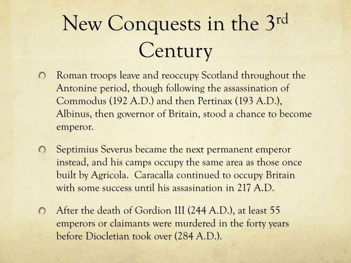 New Conquests in the 3