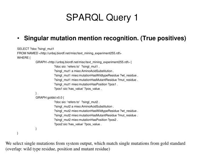 SPARQL Query 1