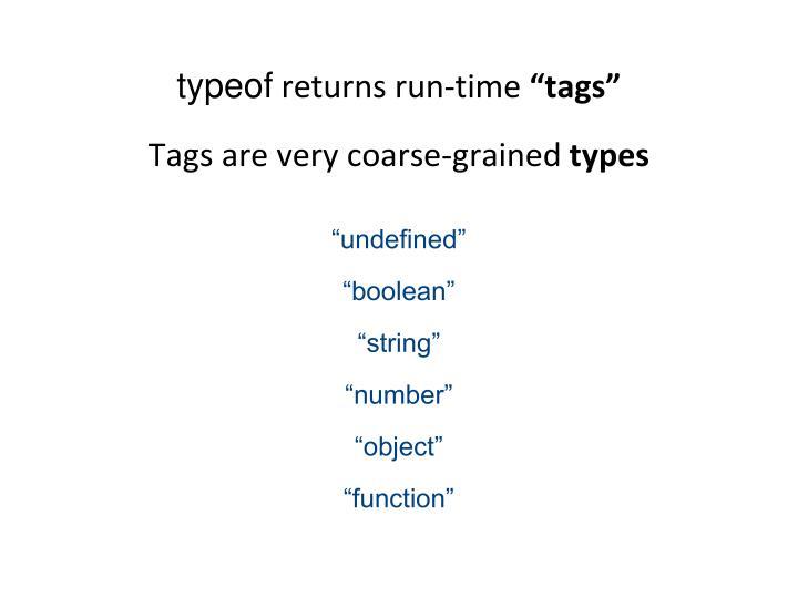 typeof