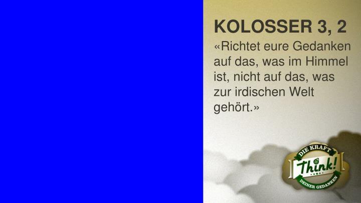 KOLOSSER 3, 2