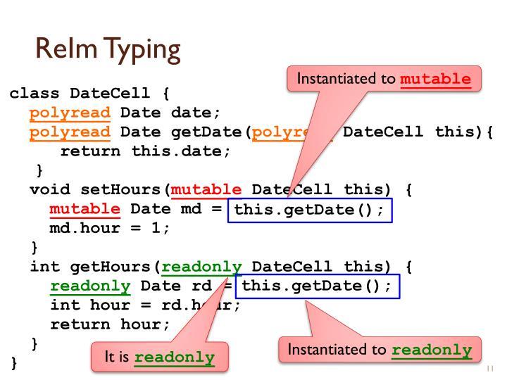 ReIm Typing