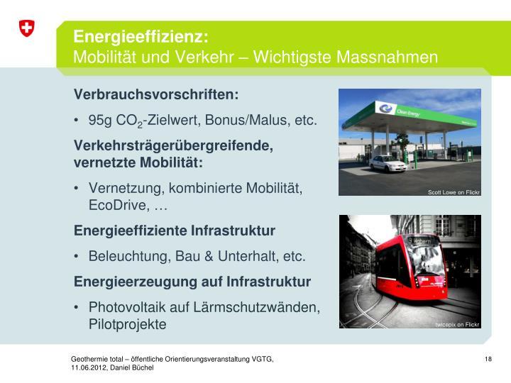Energieeffizienz: