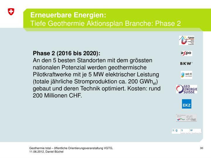 Erneuerbare Energien: