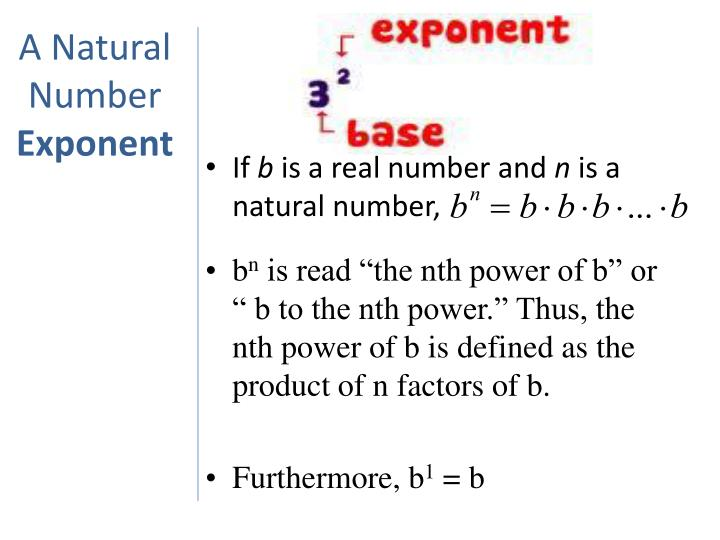 A Natural Number