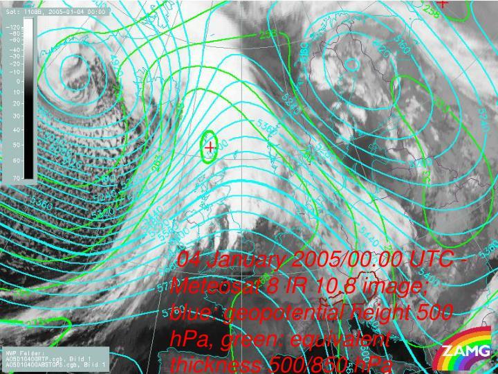 04 January 2005/00.00 UTC -