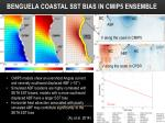 benguela coastal sst bias in cmip5 ensemble
