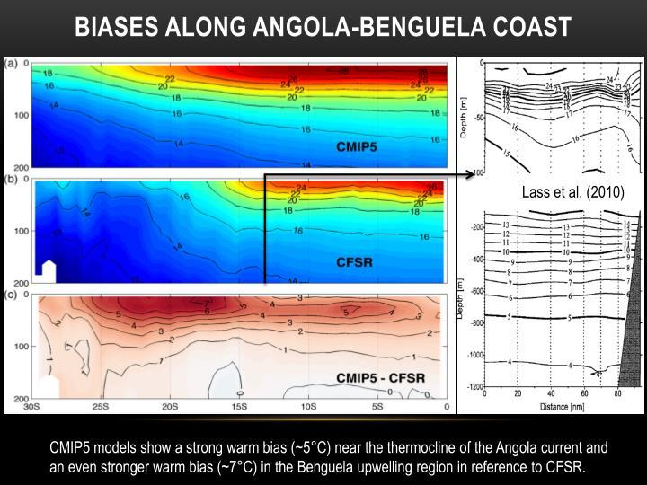 Biases Along Angola-